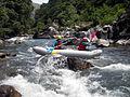 Canoe gonflable ou canoraft avec Ur Bizia rafting.jpg