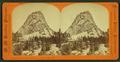 Cap of Liberty, height, 3,100 feet, Yosemite Valley, Cal, by Hazeltine, M. M. (Martin M.), 1827-1903.png
