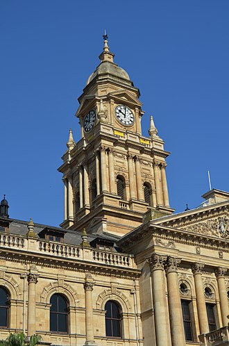 Whitchurch, Shropshire - Cape Town City Hall, Clock Tower