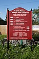 Capel Manor entrance sign Enfield London England.jpg