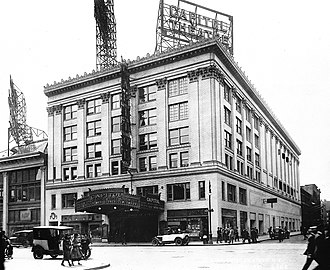 Capitol Theatre (New York City) - The Capitol Theatre in 1920