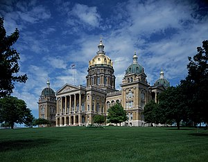 World Food Prize - The Iowa State Capitol.
