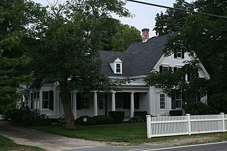 National Register of Historic Places listings in Harwich, Massachusetts - Image: Captain James Berry House, Harwich, Massachusetts