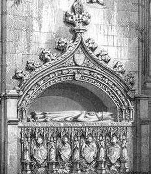 Robert de Cardeny - Image: Cardeny tomb