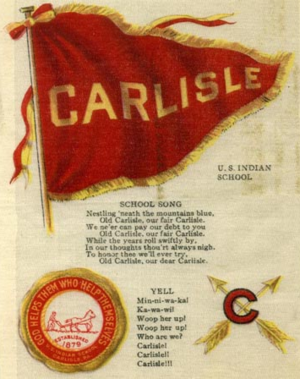Society of American Indians - The Carlisle Indian School was a well-spring of Pan-Indianism.