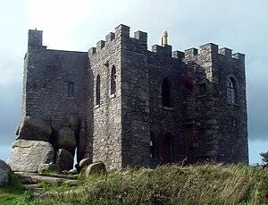 Carn Brea, Redruth - Image: Carn Brea Castle by Ansom