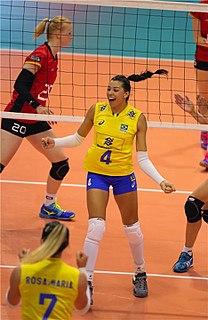 Ana Carolina da Silva Brazilian volleyball player