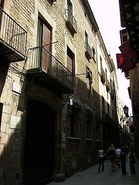 Carrer de montcada viquip dia l 39 enciclop dia lliure - Calle princesa barcelona ...