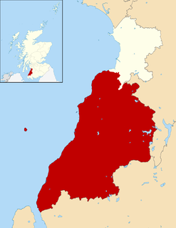 Carrick, Scotland southern part of Ayrshire