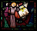 Carrickmacross St. Joseph's Church Sts Macartan and Tigernach Window by Harry Clarke Lower Panel.jpg