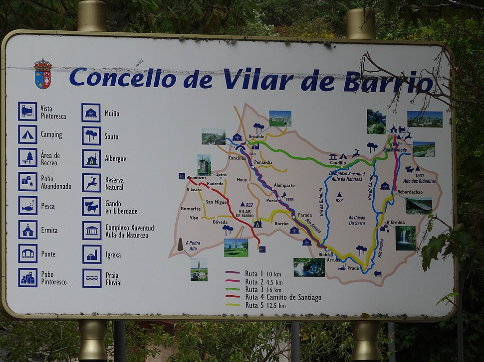 Cartel Vilar de Barrio