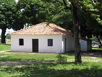 José de Alencar - The house where José de Alencar was born and lived in until 1844, in the Messejana neighborhood, in Fortaleza