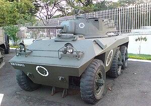 EE-9 Cascavel - A Cascavel Mk I at a museum in Rio de Janeiro.
