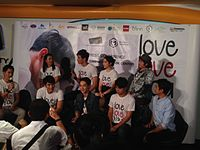 Cast and crew of LOVE LOVE YOU.JPG