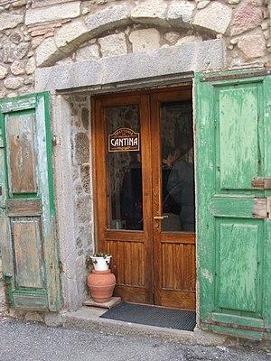 Cantina - A osteria at Castel del Piano, Tuscany