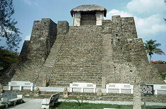 Huastec civilization - Image: Castillo de Teayo