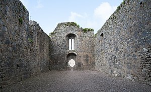 Castlelyons Friary - Image: Castlelyons Friary Nave 2015 08 27