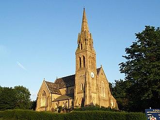 Castleton, Greater Manchester - Image: Castleton, St Martins