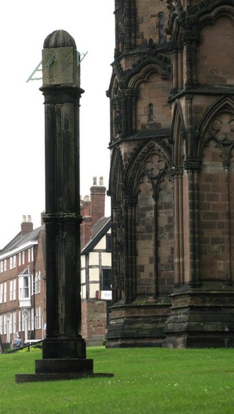 File:Cathedral Sundial, Lichfield - geograph.org.uk - 1513654.jpg