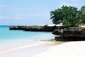 Cayo Saetía - Beach on Cayo Saetía