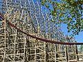 Cedar Point Mean Streak RMC refurbishment (2014).jpg