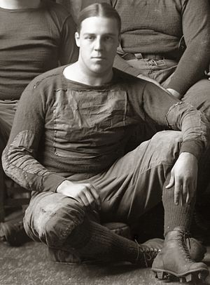 "Cedric C. Smith - Cedric ""Pat"" Smith cropped from 1916 Michigan football team photograph"