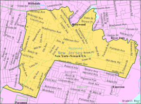 Census Bureau map of Westwood, New Jersey.png