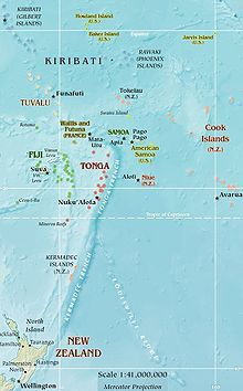 Swains Island Wikipedia - Tokelau map