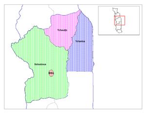 Blitta Prefecture - Prefectures of Centrale