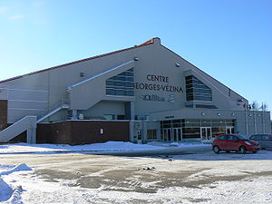 Das Centre Georges-Vézina in Chicoutimi (2006)