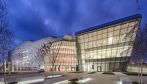 Krakow Congress Centre - the business and cultural flagship of the city Centrum kongresowe - Krakow.jpg