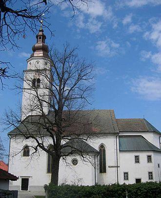 Cerknica - Image: Cerknica cerkev