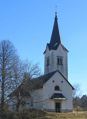 Češnjica pri Kropi - Saint Thomas's Church