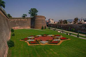 Alba Iulia - Defense wall of Alba Carolina citadel