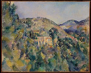 View of the Domaine Saint-Joseph - Image: Cezanne View of the Domaine Saint Joseph