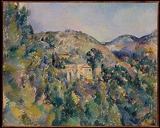 View of the Domaine Saint-Joseph - Image: Cezanne View of the Domaine Saint Joseph