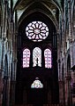 Châlons-en-Champagne Collégiale Notre-Dame-de-Vaux Innen Rosette & Westfenster.jpg