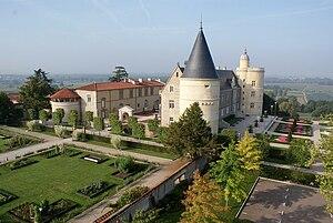 Andrézieux-Bouthéon - The château of Bouthéon