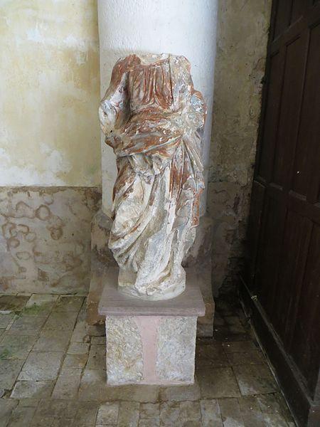 Statue de saint inconnue