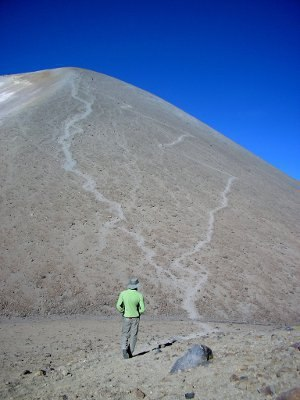 Chachani -  View towards the summit (2010)
