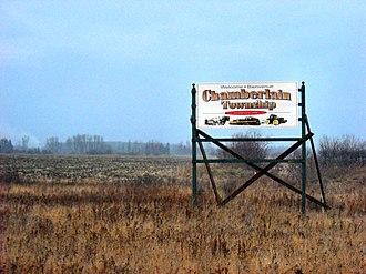 Chamberlain, Ontario - Image: Chamberlain Twp ON