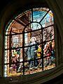 Chantilly (60), église N.D. de l'Assomption, vitrail - Saint Jean-Baptiste de la Salle (1891).jpg
