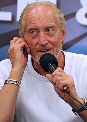 Charles Dance - Dance at the London Film and Comic Con, July 2012