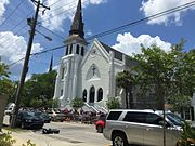 Charleston church memorial after attack.jpg