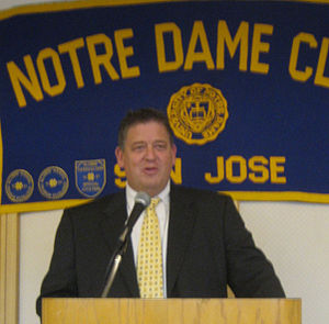 2005 Notre Dame Fighting Irish football team - Charlie Weis, Head Coach