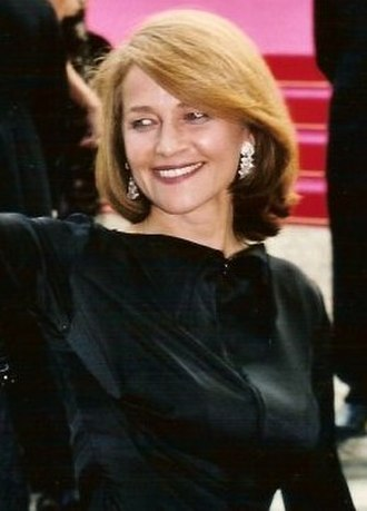 Charlotte Rampling - Rampling at the 2001 Cannes Film Festival