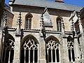 Chartreuse Saint-Saveur - Petit cloître et église.JPG