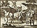 Chauveau - Fables de La Fontaine - 06-07. Le Mulet se vantant de sa généalogie.jpg