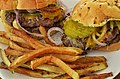 Cheeseburgers and fries (8941515620).jpg