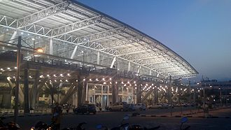 Chennai International Airport - The new domestic terminal of the airport